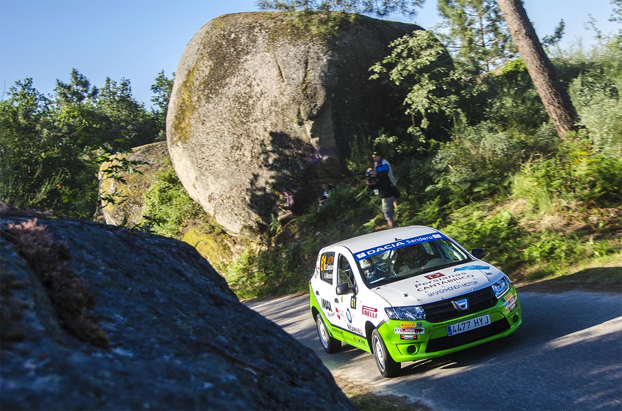 Alberto Monarri en Rallye Rias Baixas