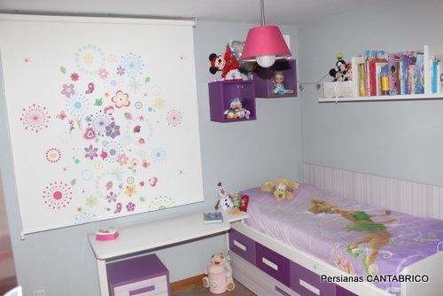 Estores Infantiles Disney.Enrollable Impresion Digital Asturias Gijon Oviedo Lugones