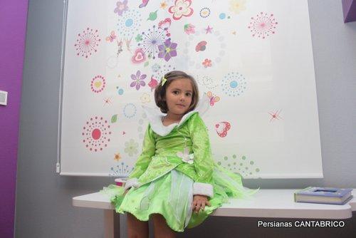Estor de princesas para una princesa