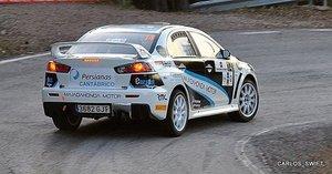 Alberto Manarri en Rallye de madrid