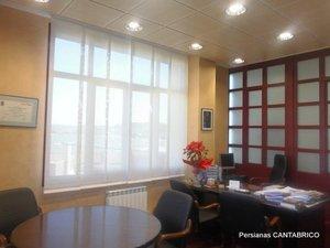 Panel japones en oficina