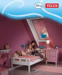 Cortina princesas Disney Velux